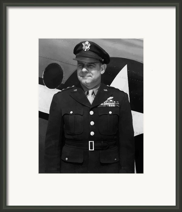 General Jimmy Doolittle Framed Print By War Is Hell Store