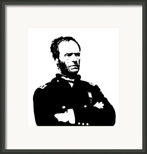 General Sherman Framed Print By War Is Hell Store