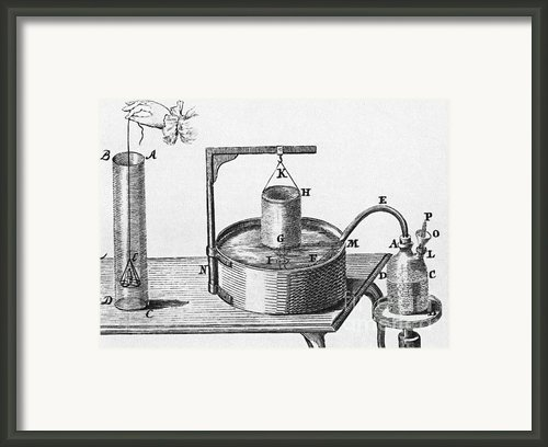Generation Of Carbon Dioxide Framed Print By Photo Researchers