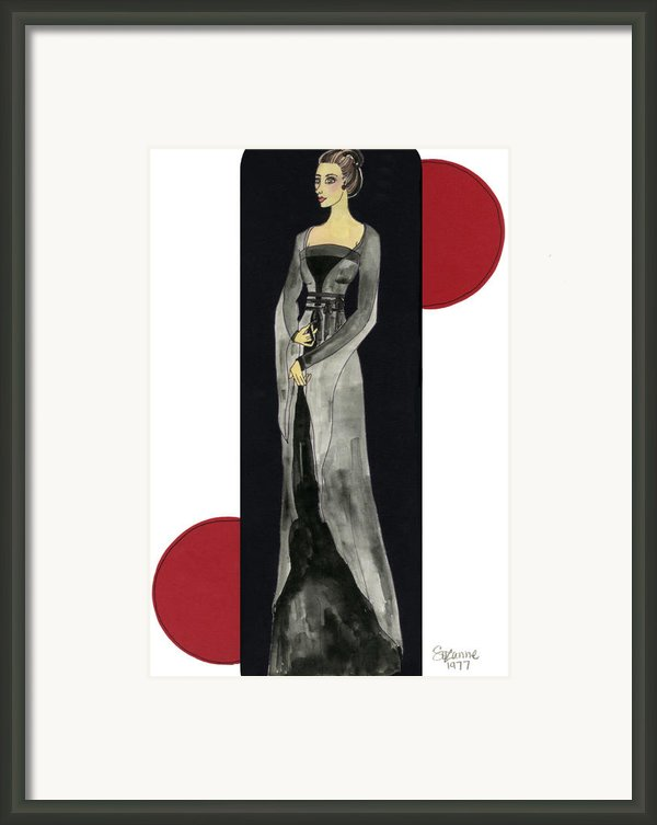 Genevieve Framed Print By Suzanne Blender
