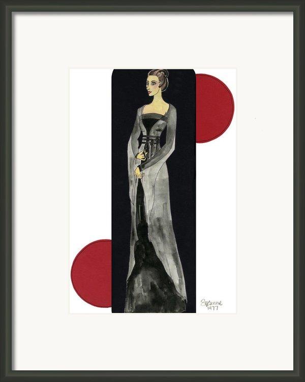Genevieve Framed Print By Suzanne Blender