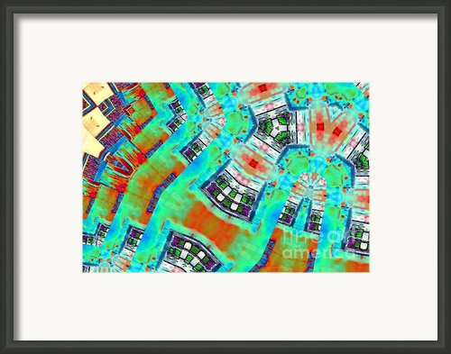 Geometric Sights Framed Print By Navo Art