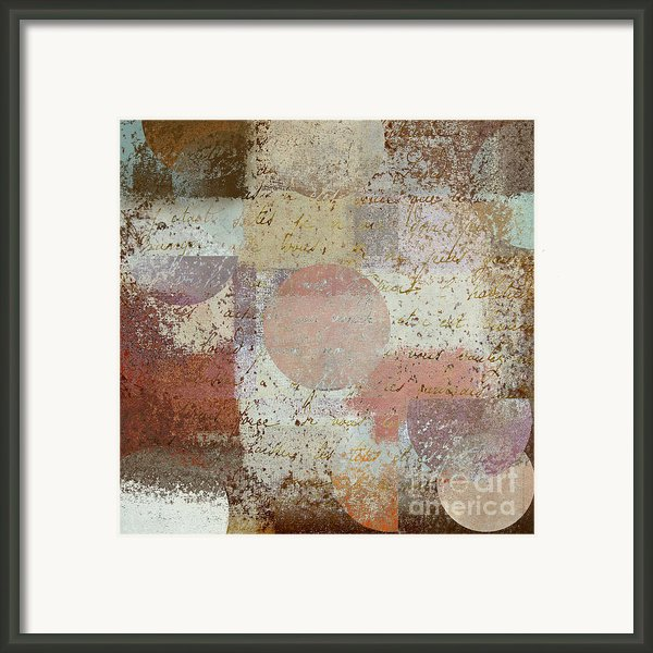 Geomix - 16c3dt2d2 Framed Print By Variance Collections