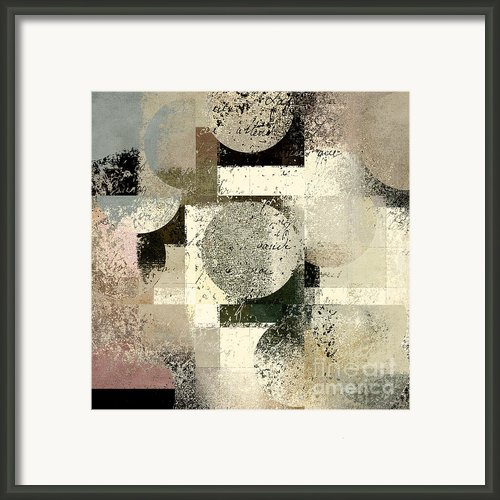 Geomix - C133et02b Framed Print By Variance Collections