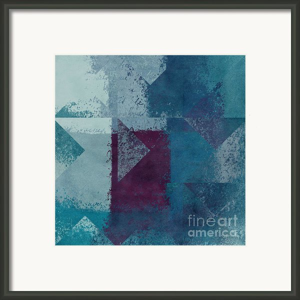 Geomix 03 - S122bt2a Framed Print By Variance Collections