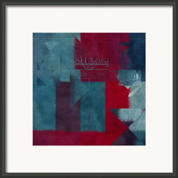 Geomix 03 - S330d05t2b2 Framed Print By Aimelle