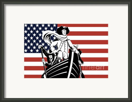 George Washington Framed Print By Aloysius Patrimonio
