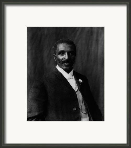 George Washington Carver 1864-1943 Framed Print By Everett