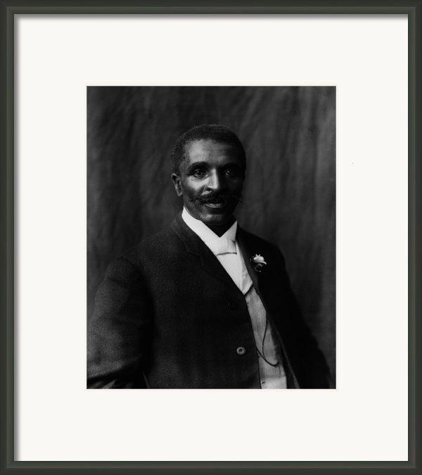 George Washington Carver 1864-1943 Framed Print By Everett