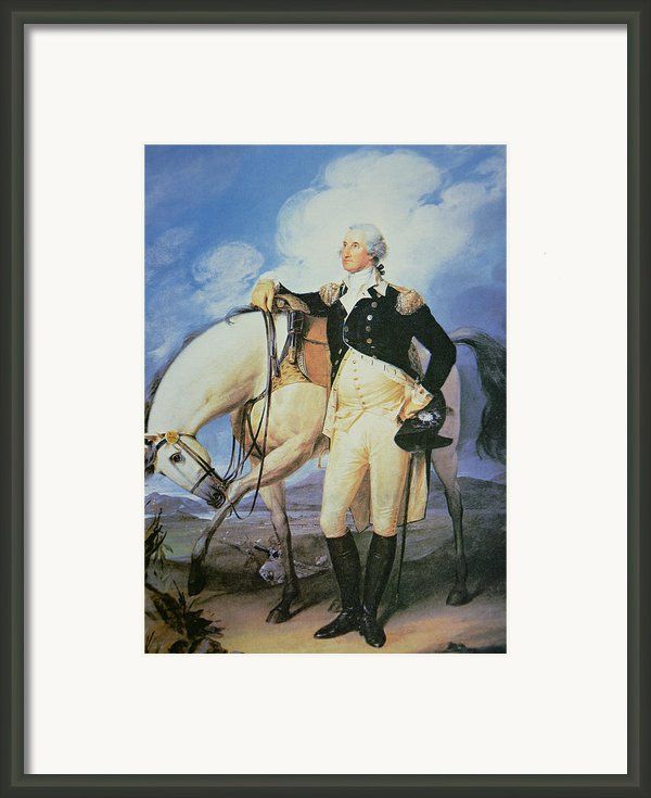 George Washington Framed Print By John Trumbull
