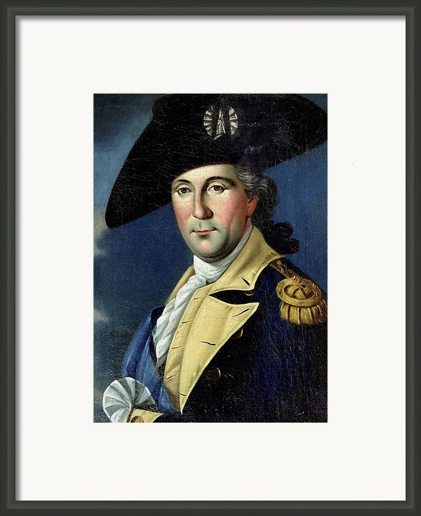 George Washington Framed Print By Samuel King