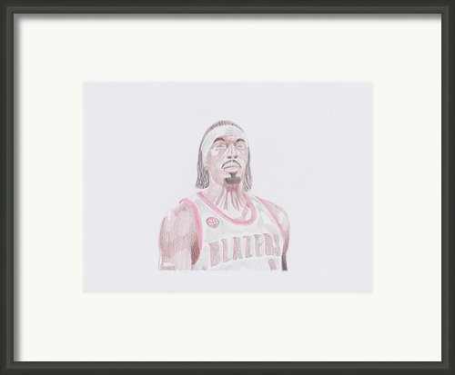 Gerald Wallace Framed Print By Toni Jaso