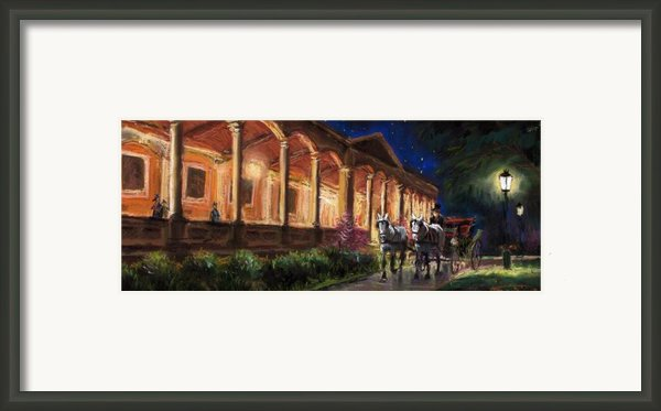Germany Baden-baden 13 Framed Print By Yuriy  Shevchuk