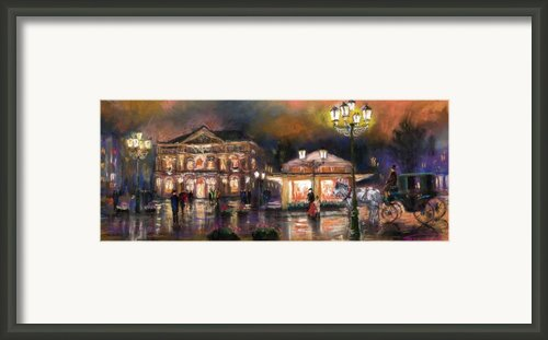 Germany Baden-baden 14 Framed Print By Yuriy  Shevchuk