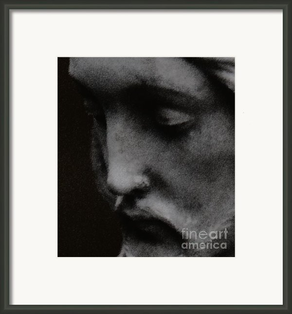 Gethsemane Framed Print By Linda Knorr Shafer