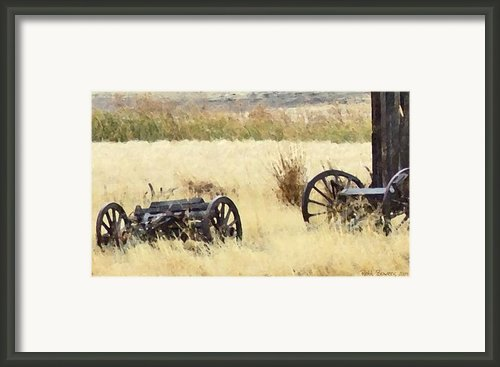 Ghost Of The Oregon Trail Framed Print By Everett Bowers