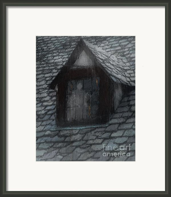 Ghost Rain Framed Print By Rc Dewinter