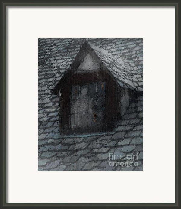 Ghost Rain Framed Print By Rc Dewinter