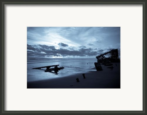 Ghost Ship Framed Print By Jennifer  Owen