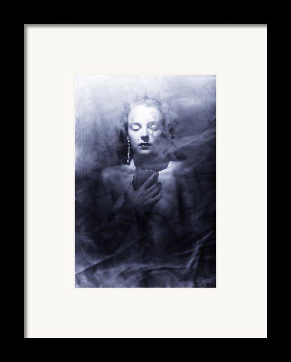 Ghost Woman Framed Print By Scott Sawyer