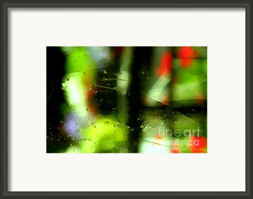 Ghostly Glass Framed Print By Louie Rochon