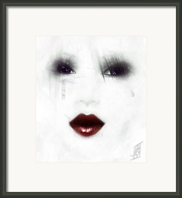 Ghostly Tears Framed Print By Rosy Hall