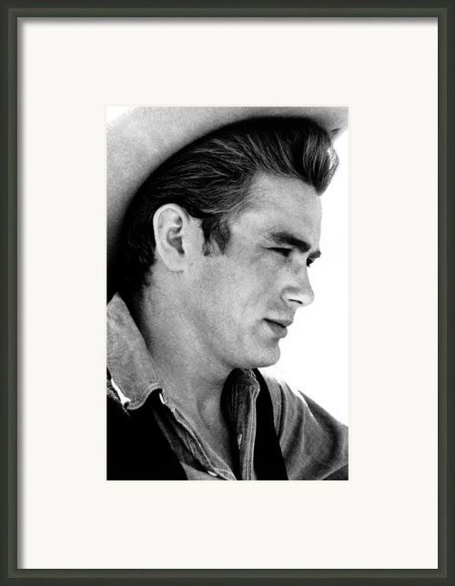 Giant, James Dean, 1956 Framed Print By Everett