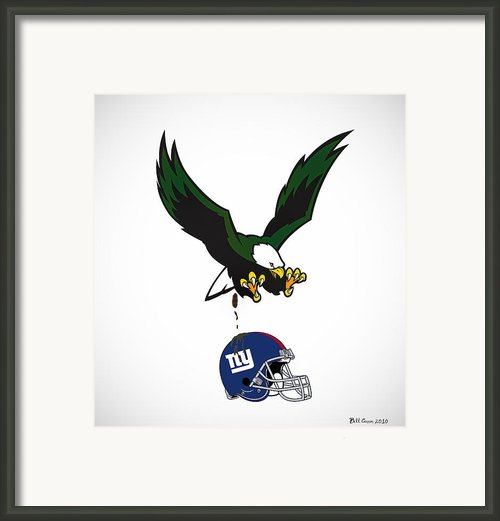 Giants Suck Framed Print By Bill Cannon