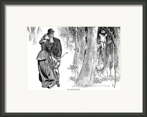 Gibson: Highwayman, 1898 Framed Print By Granger