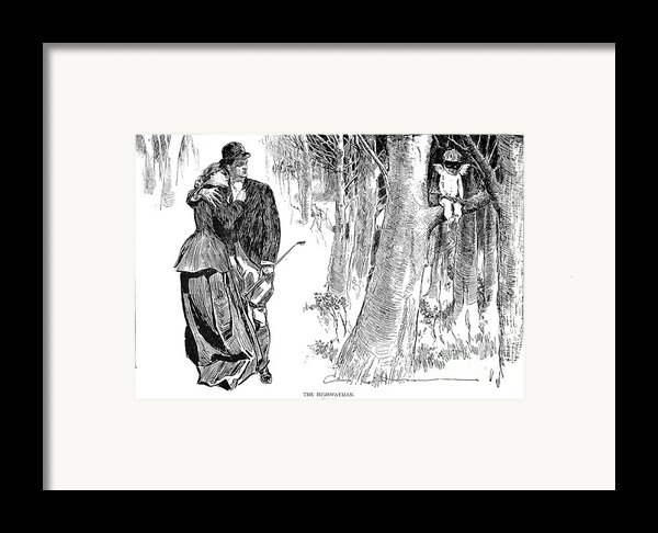 Gibson: Highwayman, 1898 Framed Print By Granger