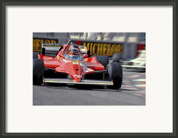 Gilles At Long Beach Framed Print By Mike Flynn