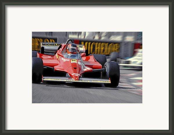 Gilles At Long Beach Framed Print By Mike Flynn