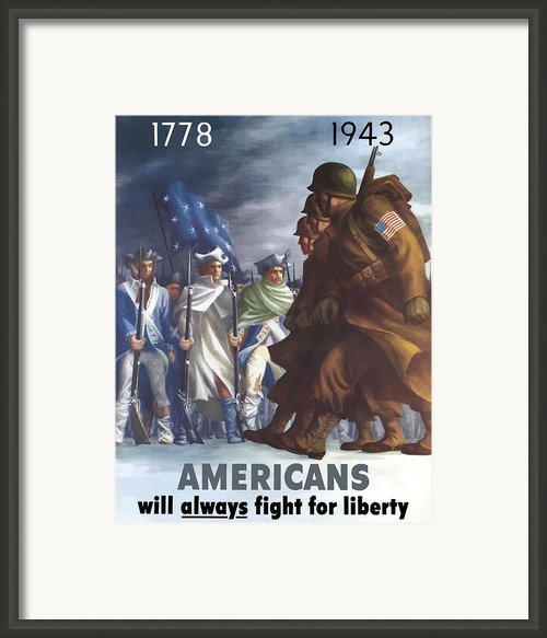 Gis And Minutemen Framed Print By War Is Hell Store