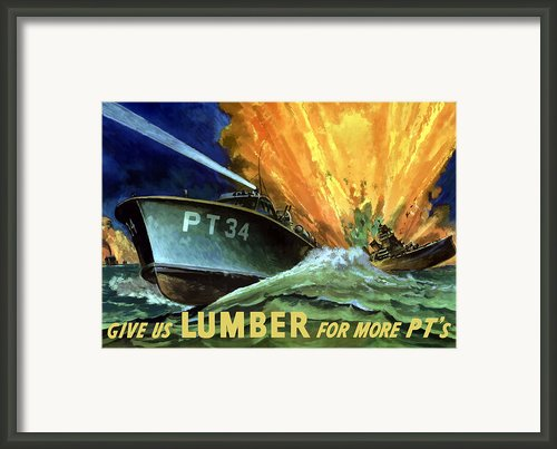 Give Us Lumber For More Pt