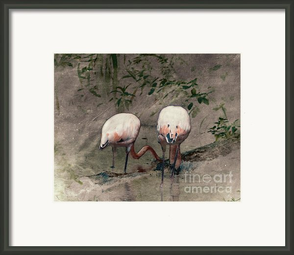 Gleaners Framed Print By Arne Hansen