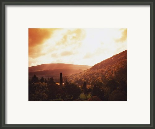 Glendalough, County Wicklow, Ireland Framed Print By The Irish Image Collection