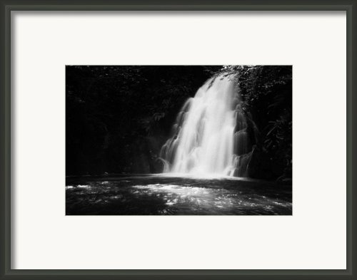 Gleno Or Glenoe Waterfall County Antrim Northern Ireland Framed Print By Joe Fox