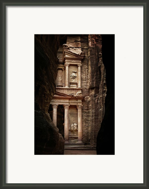 Glimpse Of Treasury Framed Print By David Lazar