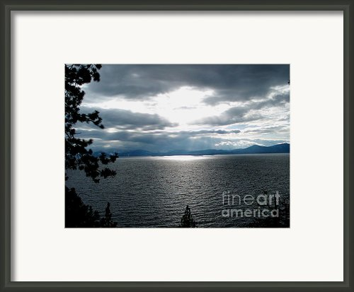 Glistening Lake  Framed Print By The Kepharts