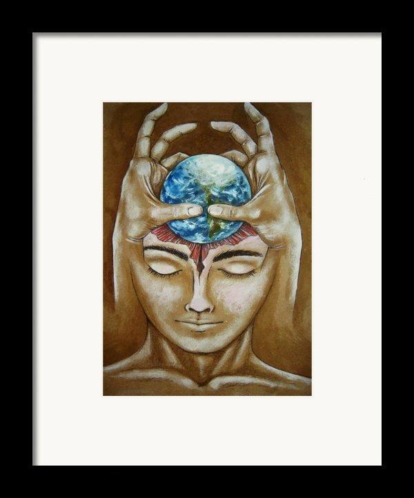 Global  Awareness Framed Print By Paulo Zerbato