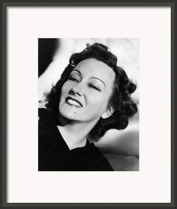 Gloria Swanson, Ca. Early 1940s Framed Print By Everett