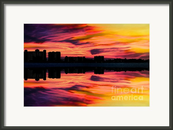 Glory Framed Print By Jalai Lama