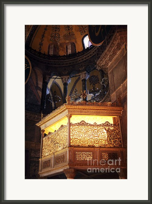 Glowing In The Sophia Framed Print By John Rizzuto