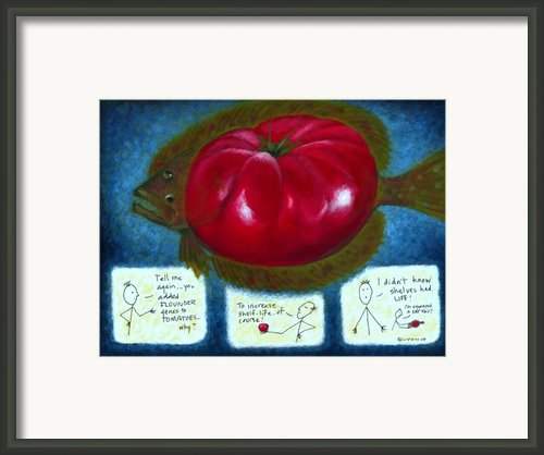 Gmo Tomfoolery Framed Print By Angela Treat Lyon
