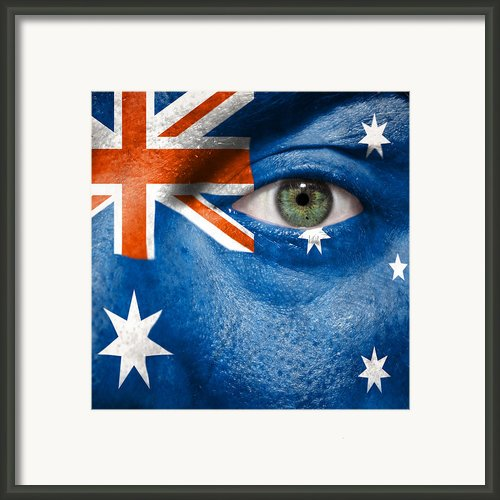 Go Australia Framed Print By Semmick Photo