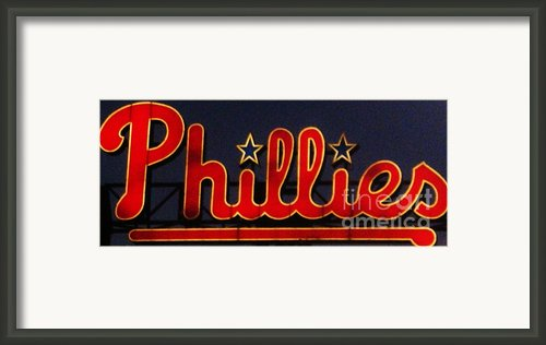 Go Phils Framed Print By Snapshot  Studio