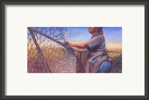 God Bless All My Children Framed Print By Curtis James
