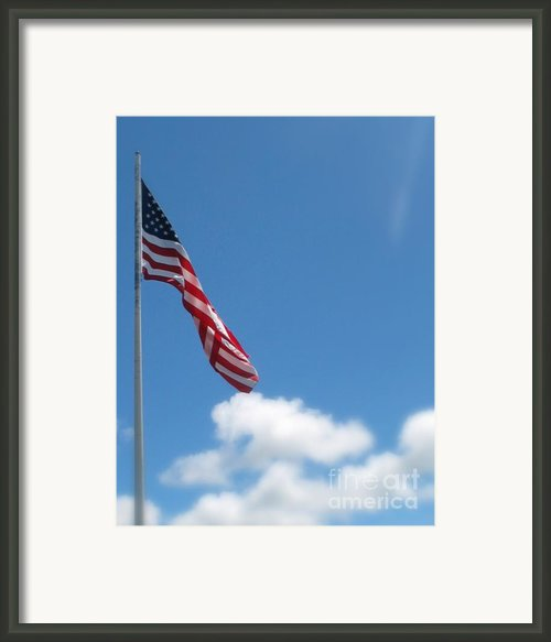 God Bless America Framed Print By Mg Rhoades