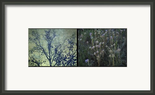 God Framed Print By James W Johnson