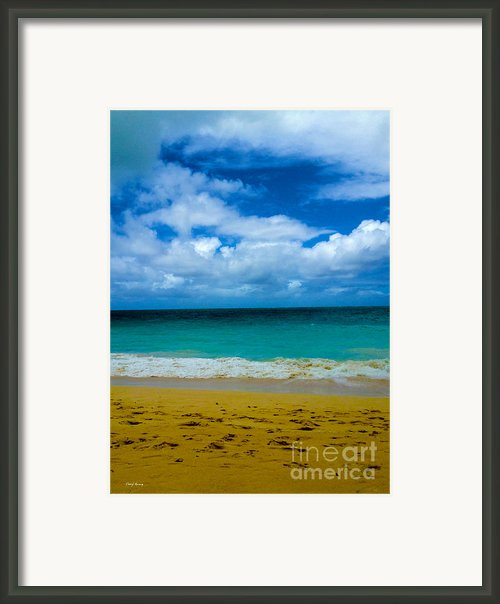 Gods Gift Framed Print By Cheryl Young